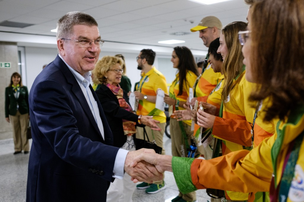 Thomas Bach may face less criticism when the Olympic Games begin ©Getty Images