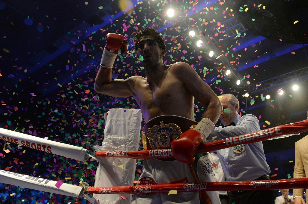 A fight with Indian Vijender Singh could await Amir Khan ©Getty Images