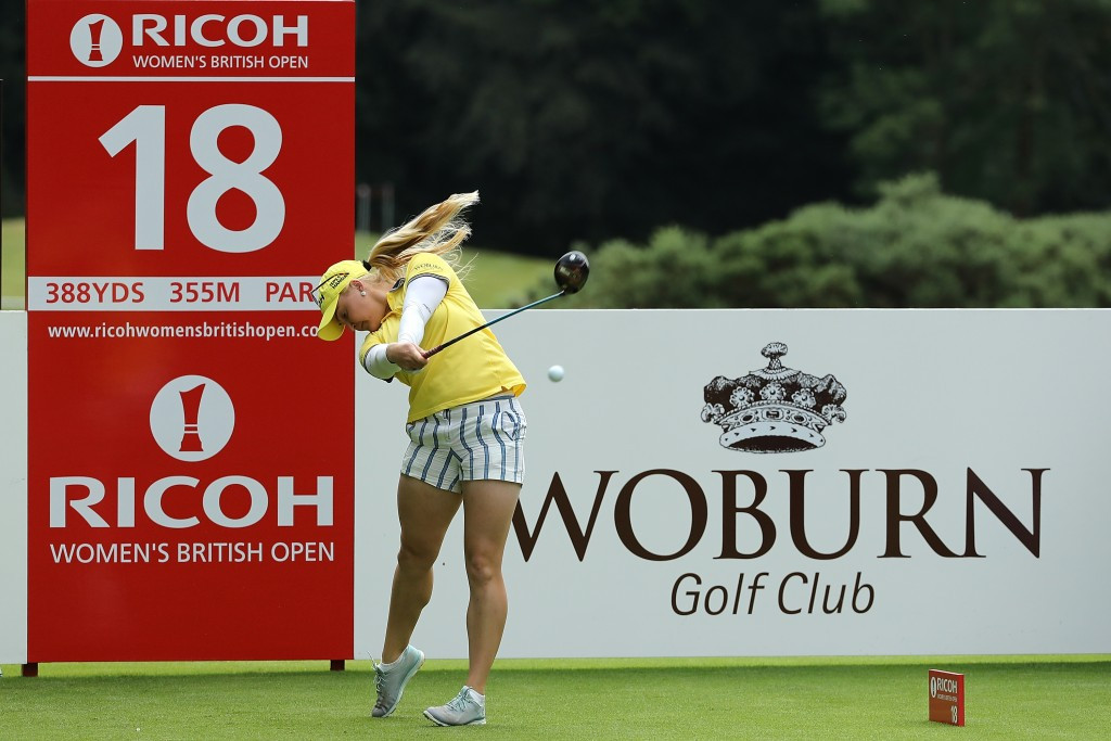 Hull hopeful of home success at Women's British Open