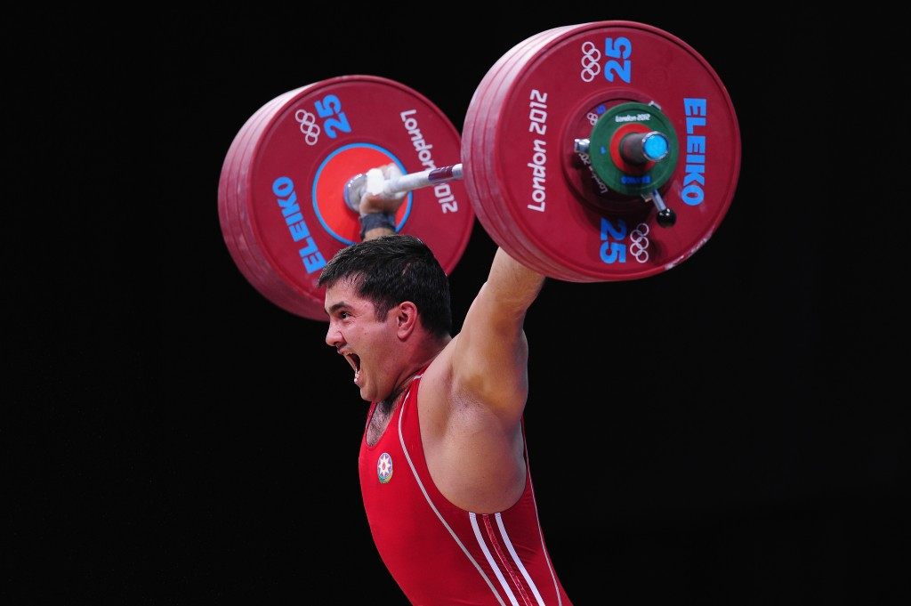 Azerbaijan's Intigam Zairov has now tested positive in both the Beijing 2008 and London 2012 retests ©Getty Images