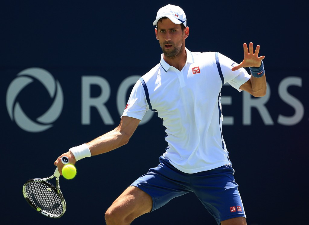 Djokovic comes through tough opening test at Rogers Cup