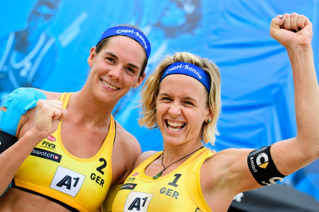 The participants in the second round of the women's event were all decided today ©FIVB