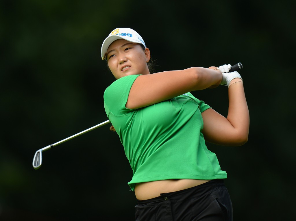 Lee equals Championship record on opening day of Women's British Open