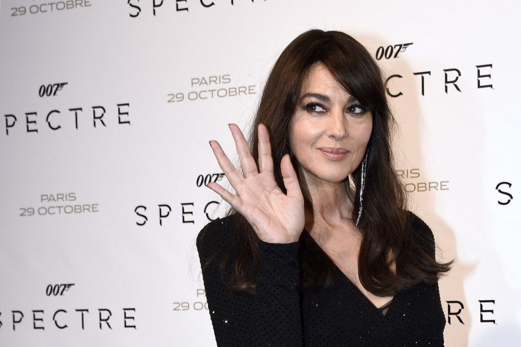 Actress and James Bond star Monica Bellucci is also among the 17 ambassadors announced by Rome 2024 ©Getty Images