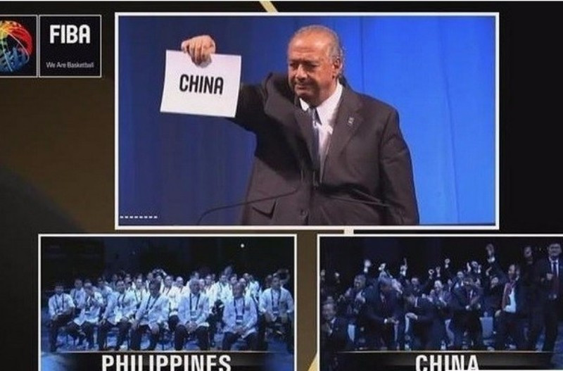 China was awarded hosting rights for FIBA's showpiece event last year after seeing off The Philippines ©FIBA