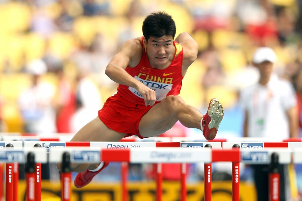 Hurdler Shi Dongpeng has been among Chinese team members implicated in robberies on arrival in Rio ©Getty Images