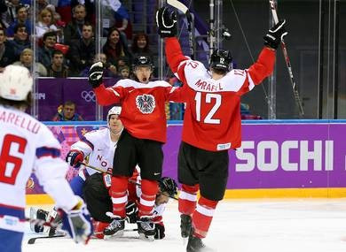NHL players selected to represent Austria at pre-Final Olympic Qualification event training camp