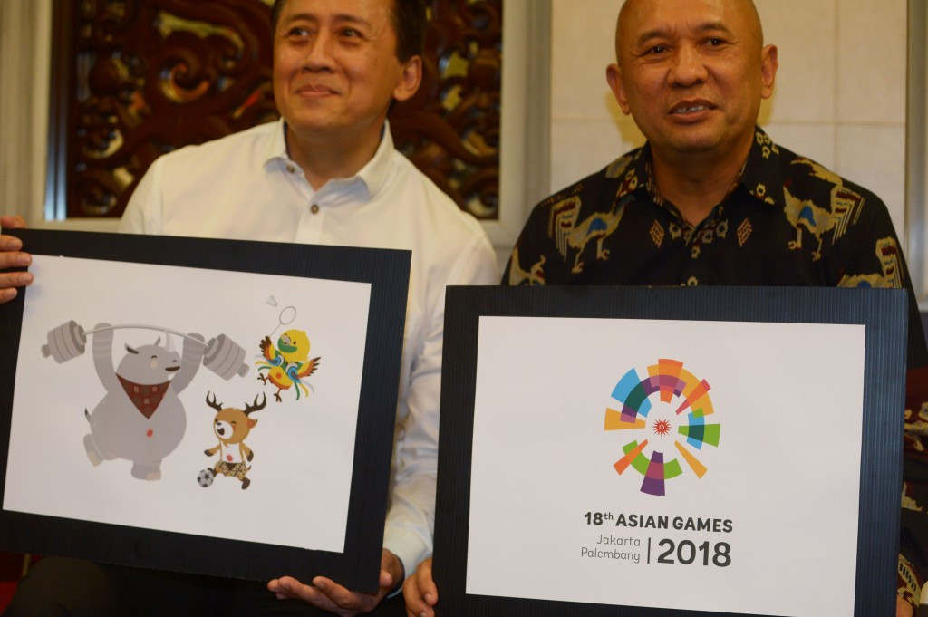 The official logo and mascots for the Jakarta 2018 Asian Games have been unveiled ©Jakarta 2018