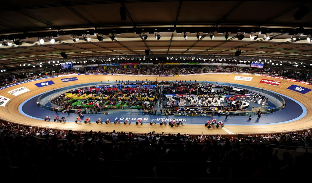 The 2016 UCI Track Cycling World Championships in London was a key event for the citay ©Getty Images
