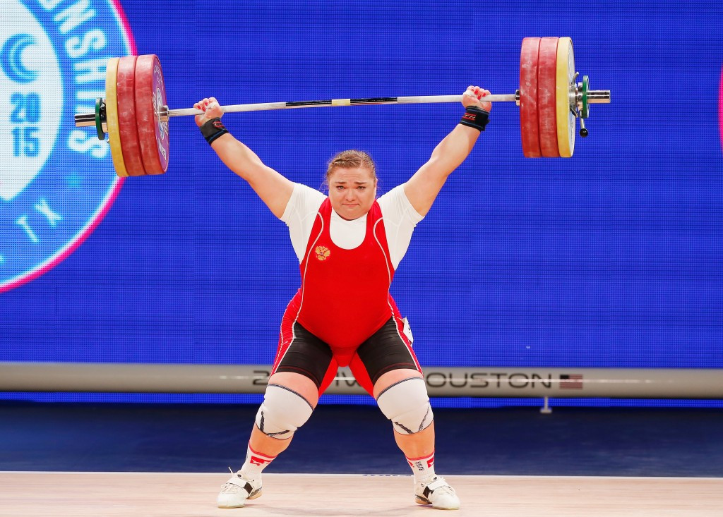 Tatiana Kashirina was among Russian weightlifters automatically ruled out of Rio 2016 having a previous doping conviction but has now been joined by the whole team after the decision of the IWF to ban them ©Getty Images