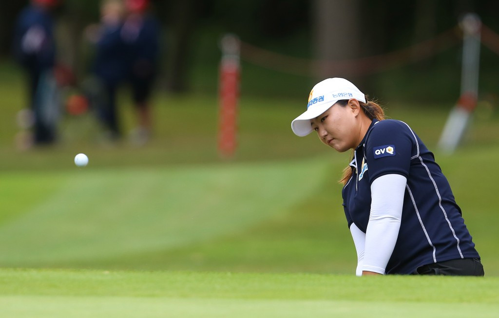 Lee's lead down to one shot after day two of Women's British Open