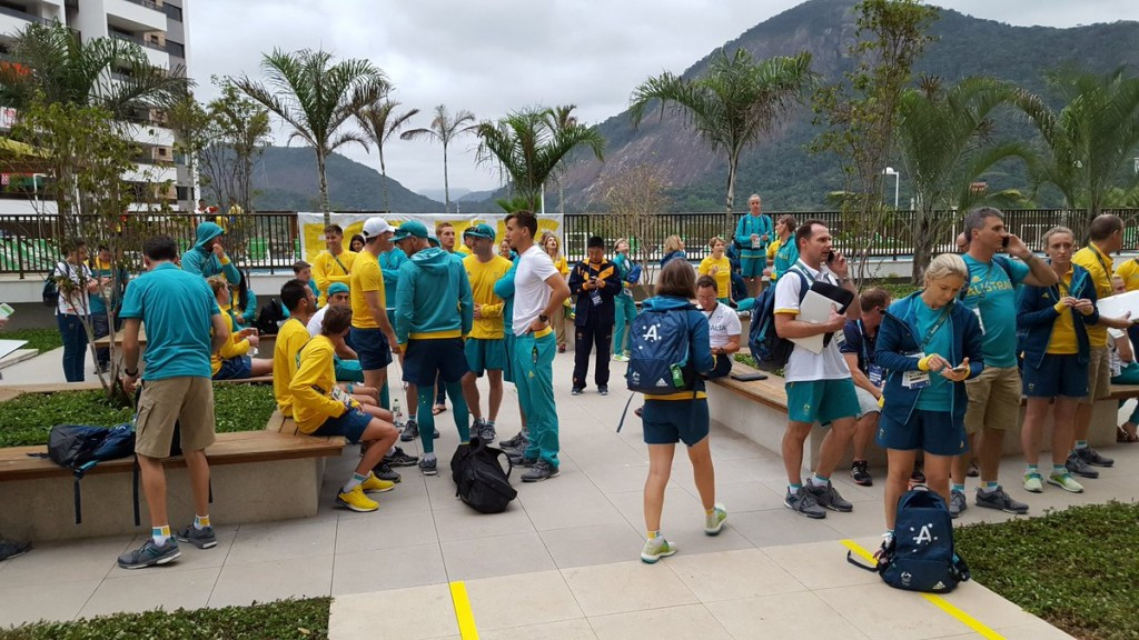 Australian team evacuated from Rio 2016 Athletes' Village apartment due to fire