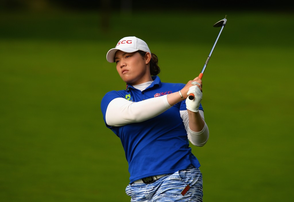 Jutanugarn surges into two-shot lead with superb display at Women's British Open
