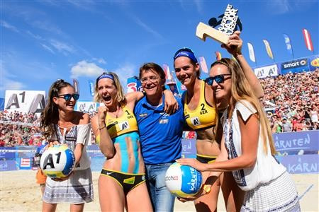 Germans strike gold at FIVB Major Series event in Klagenfurt as attention turns to Rio 2016