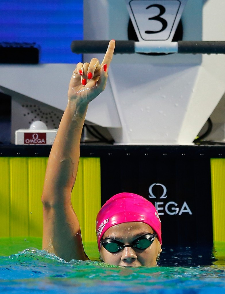 Russia's world 100 metres backstroke champion Yuliya Efimova had been expected to appeal against the decision to ban her from Rio 2016 ©Getty Images