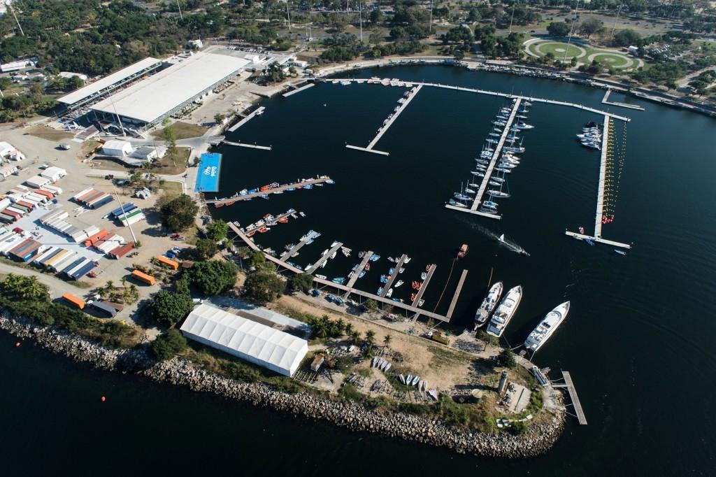 Rio 2016 sailing venue damaged as strong waves cause chaos at Marina de Gloria