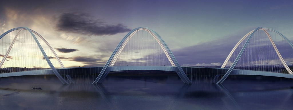 Iconic bridge set to be built to link Beijing and Zhangjiakou in time for 2022 Winter Olympics