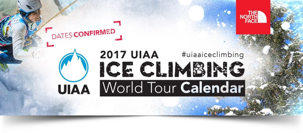 The UIAA has released its provisional schedule of events for 2017 ©UIAA