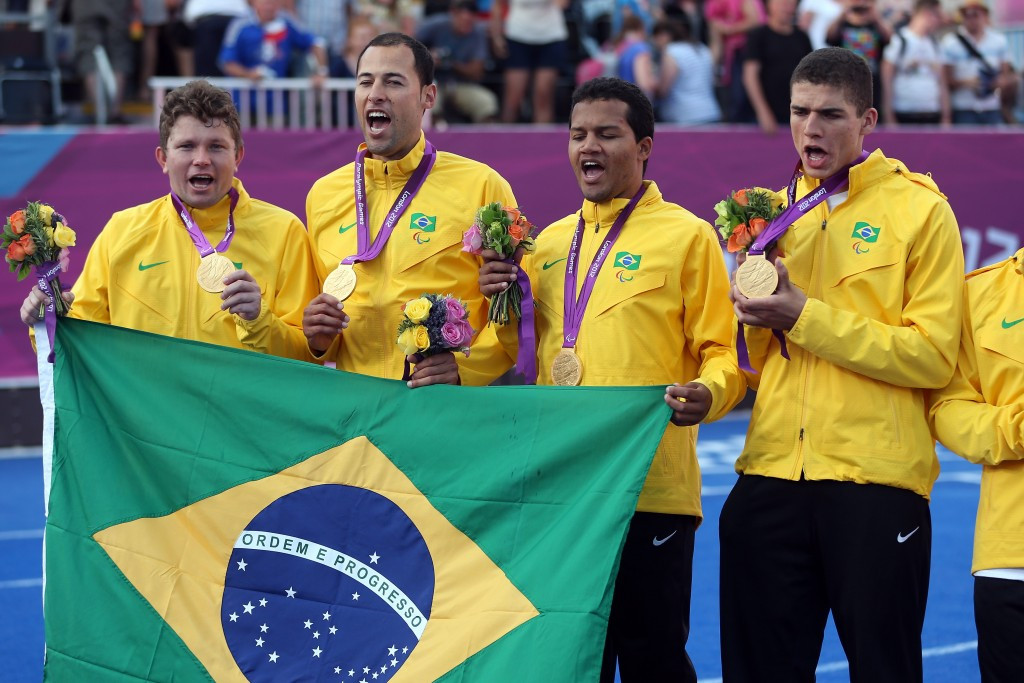 Brazil will begin their Paralympic title defence as the team to beat ©Getty Images
