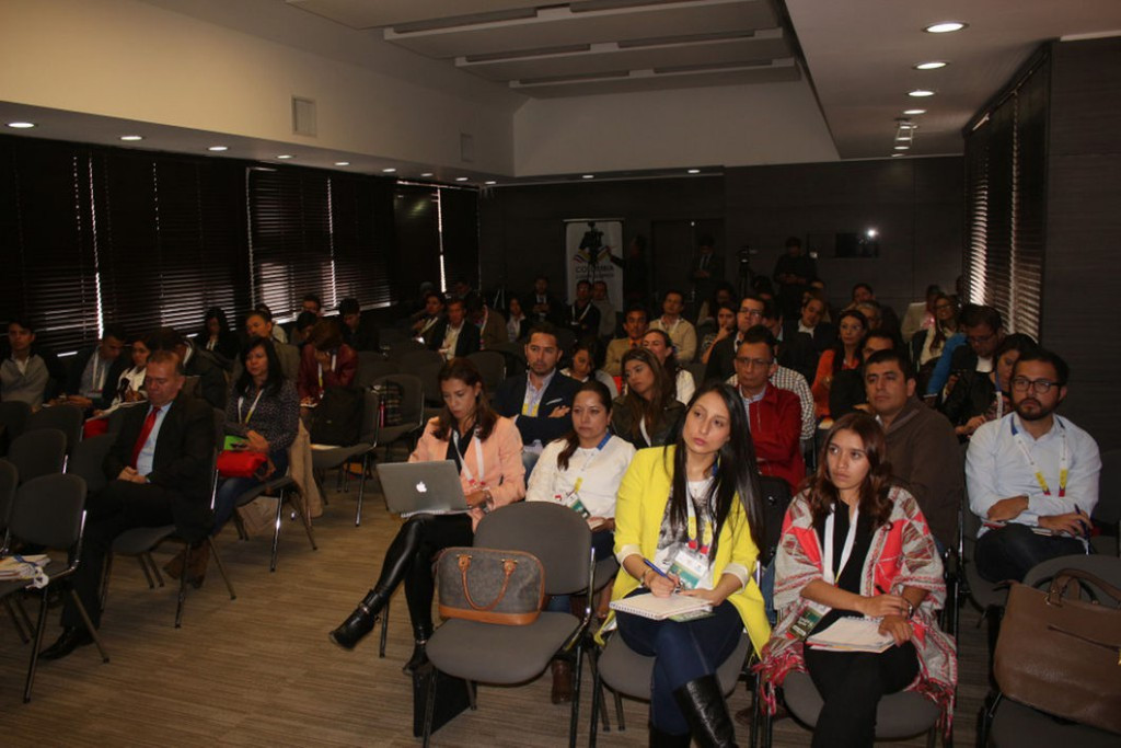 Colombian Olympic Committee host sports journalism conference