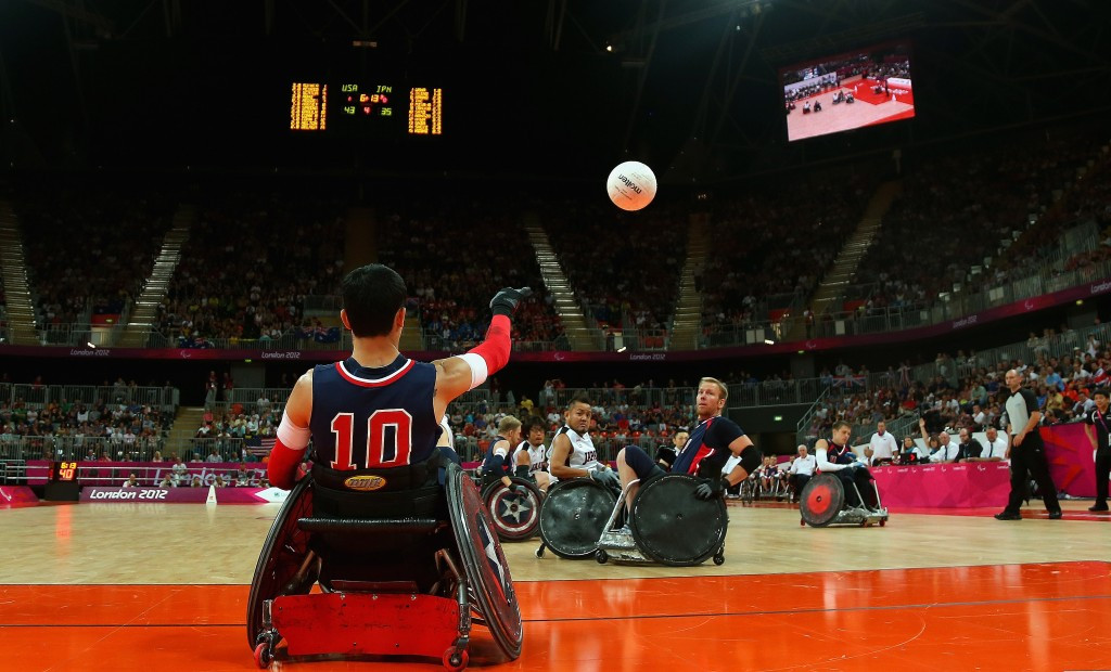 USA Wheelchair Rugby name squad for Rio 2016 Paralympic Games