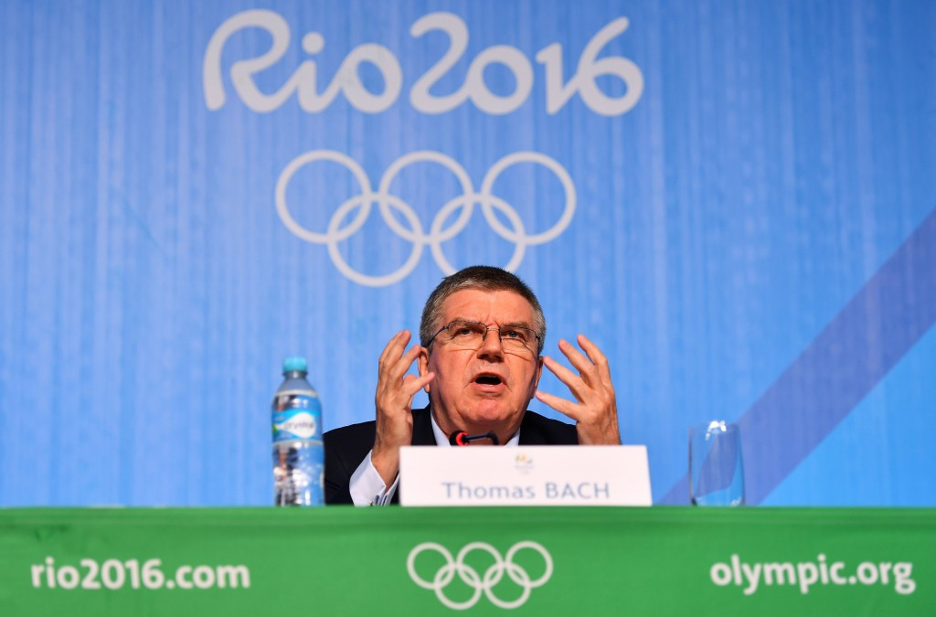 Bach tries to turn WADA into scapegoat for Russian doping shambles