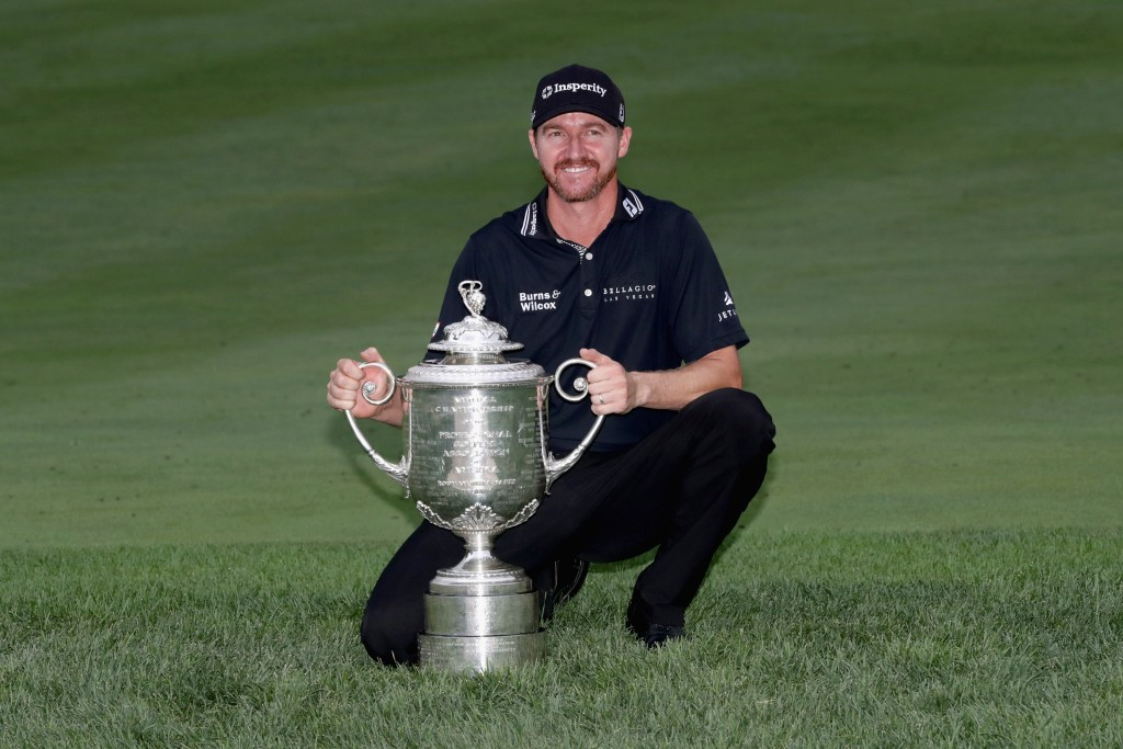 Jimmy Walker has claimed a maiden Major title ©Getty Images