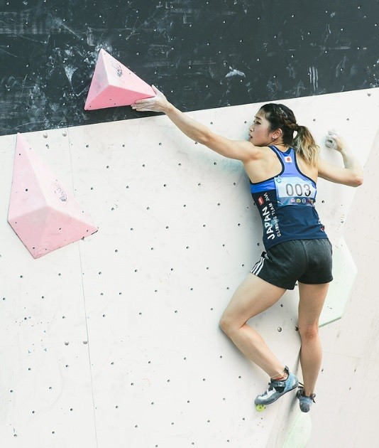 Sport climbing is enjoying rapid development in Japan ©IFSC