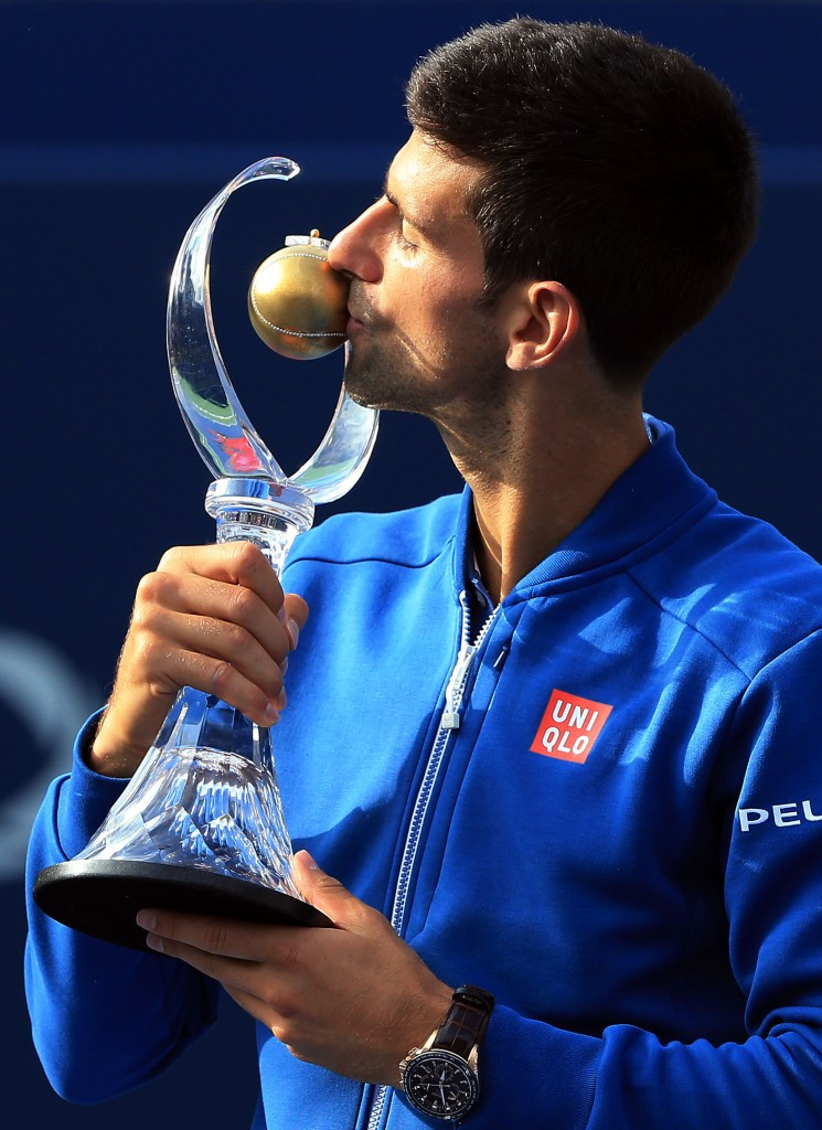 Djokovic beats Nishikori in Rogers Cup final