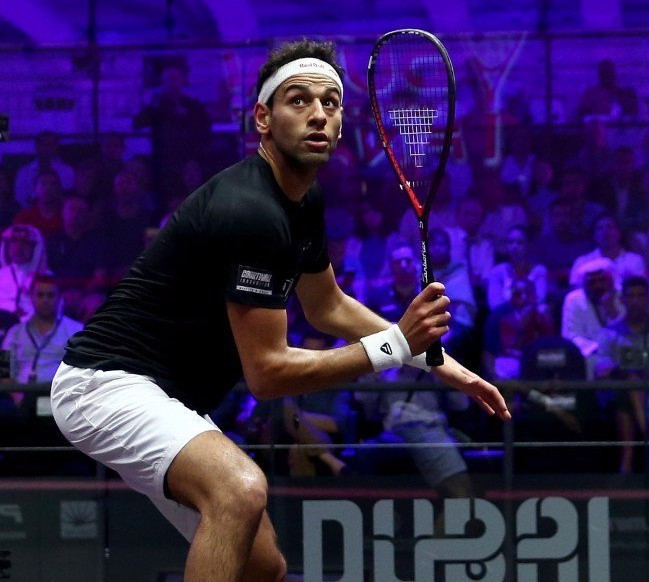 Elshorbagy equals Ashour in unchanged men's squash rankings