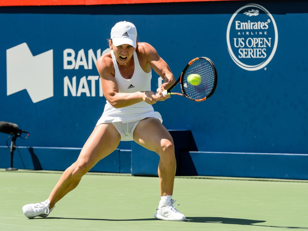 Simona Halep beat Madison Keys to seal her third tournament win of the year ©GettyImages