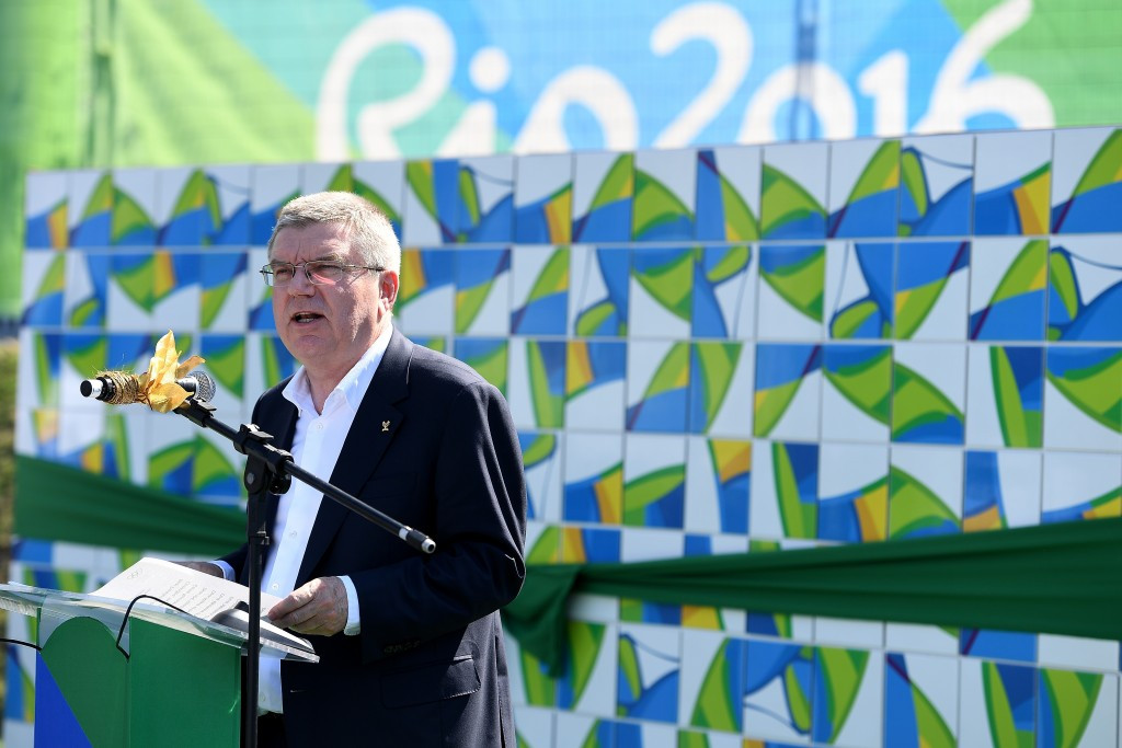 IOC President Thomas Bach had criticised WADA for the shambles surrounding Russian athletes at Rio 2016 ©Getty Images