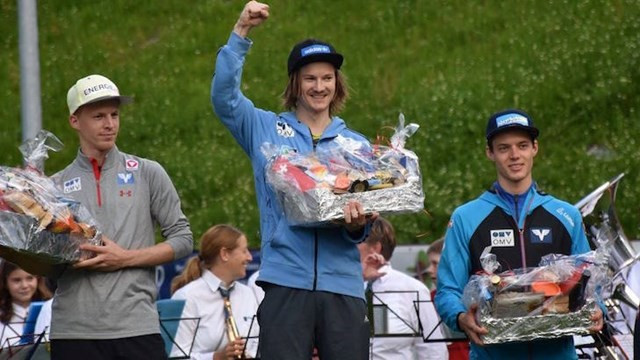 Hilde wins first senior ski jumping event at new Nordic Arena