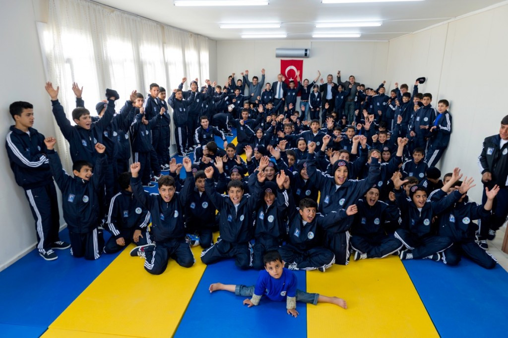 A refugee camp programme was launched in the Turkish city of Kilis in 2015 ©IJF