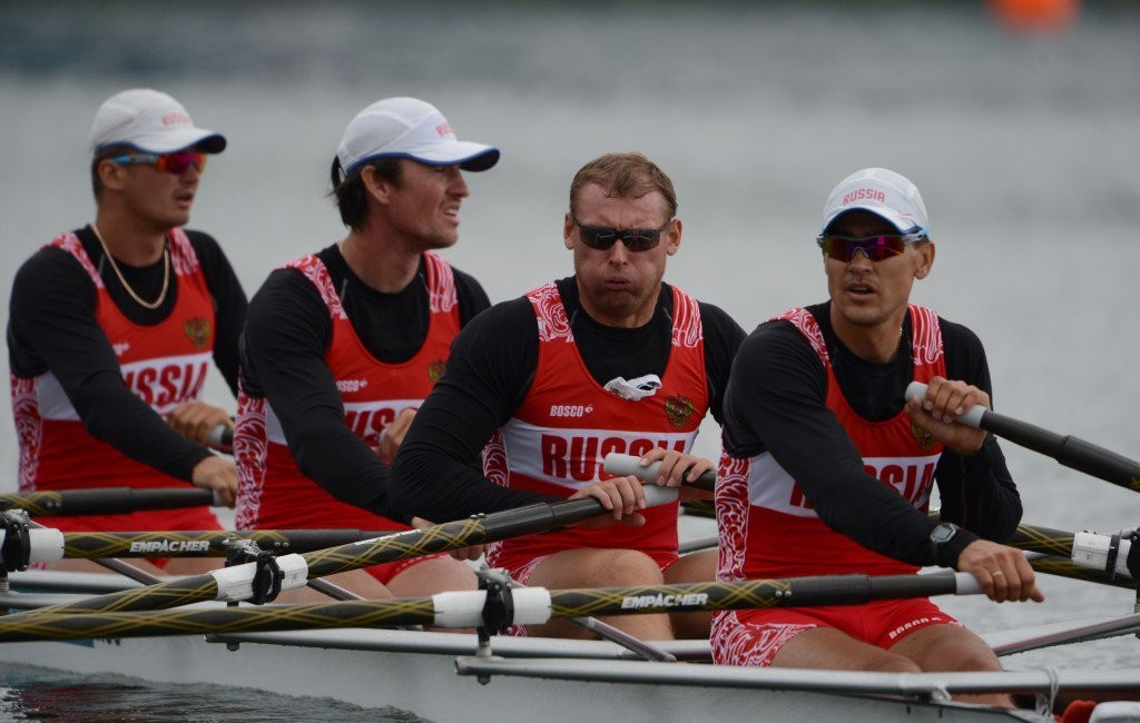 Russian rowers have lost an appeal to be allowed to compete at Rio 2016 ©Getty Images
