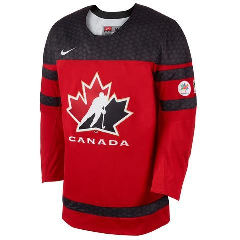 The new jersey was made in partnership with Nike ©Hockey Canada