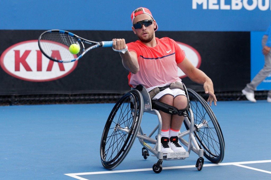 Dylan Alcott will be attempeting to win a gold medal in a second sport this summer ©Getty Images