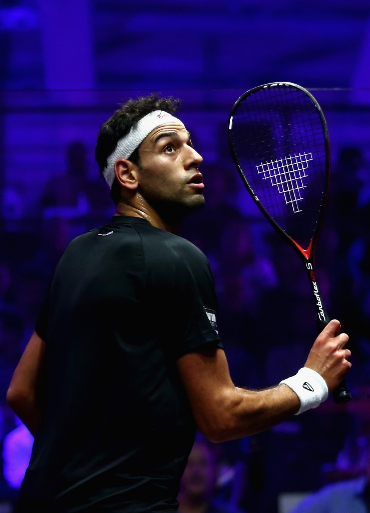 Mohamed Elshorbagy is currently ranked number one in the PSA World Tour rankings ©Getty Images