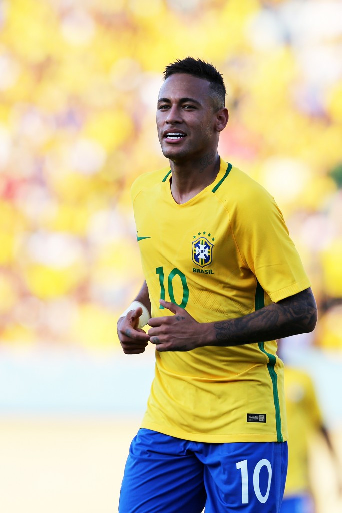 Neymar hoping to lead Brazil to first Olympic football gold medal