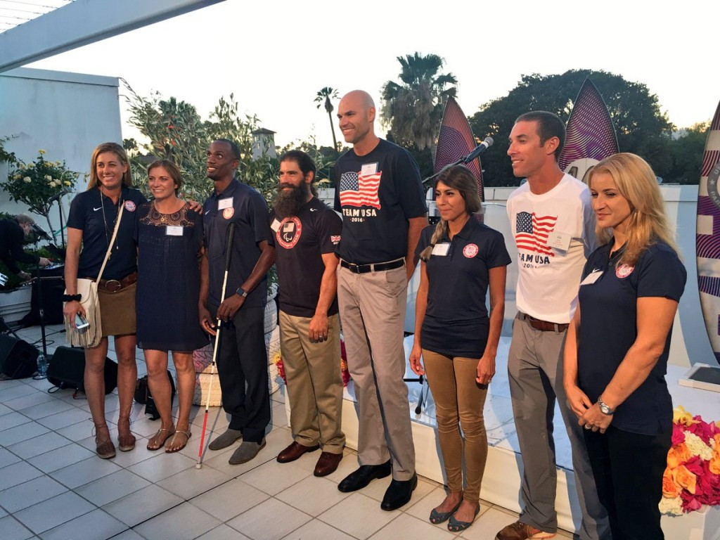 America's team for Rio 2016 was announced via a special event that was broadcast on Periscope ©USOC