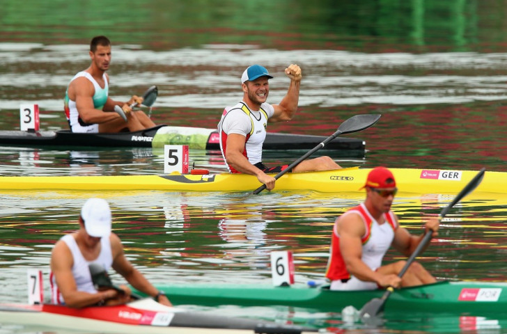 Germany and Hungary share canoe sprint spoils as Belarus secure first European Games gold