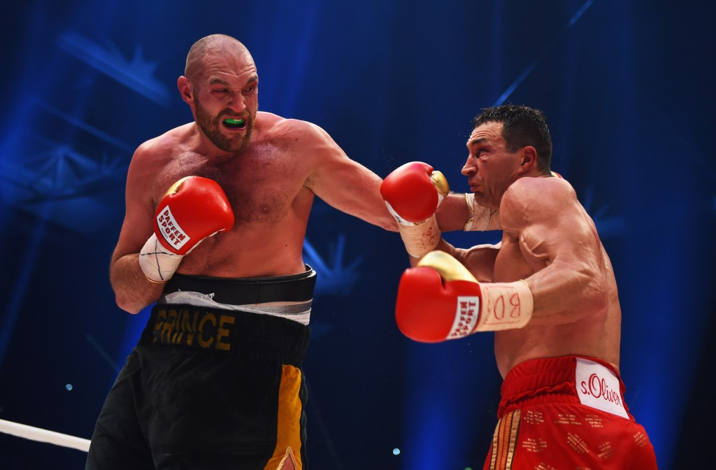 Heavyweight world champion Tyson Fury has reportedly tested positive for cocaine ©Getty Images