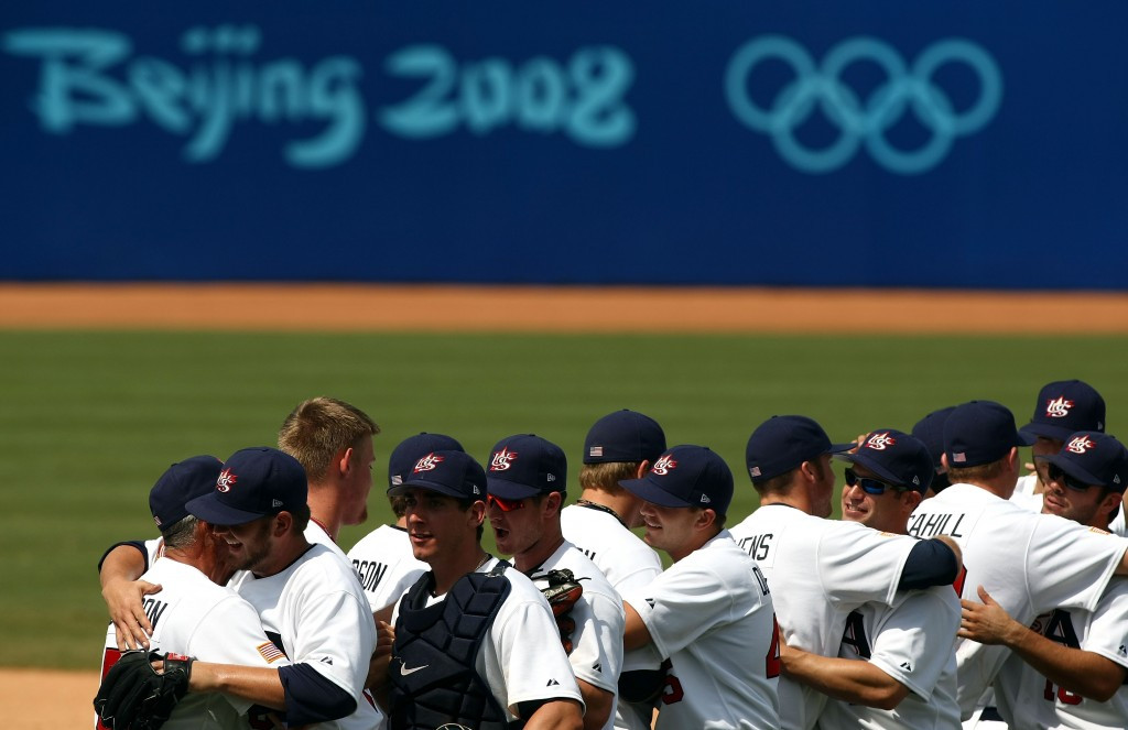 Baseball last featured at the Olympic Games at Beijing 2008 ©Getty Images