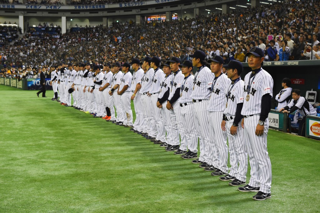 Japanese baseball players will be able to compete on home soil at the Tokyo 2020 Olympic Games ©Getty Images