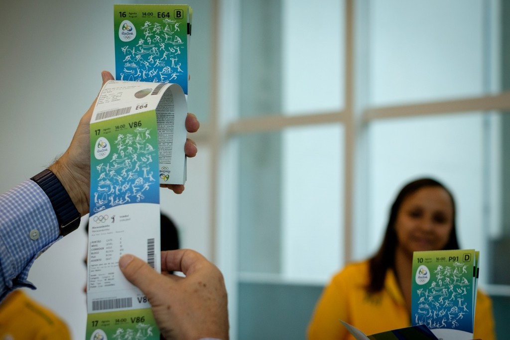 Concerns are heightening over Rio 2016 ticket sales ©Getty Images