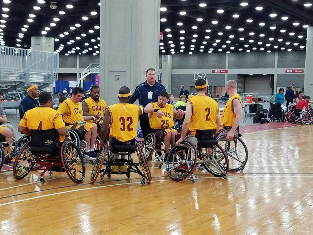 Tim Fox has been a coach with the Cleveland Wheelchair Cavaliers, and also serves as the general manager ©NWBA