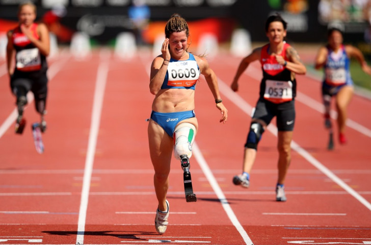 Caironi maintains excellent run with world record on home soil at IPC Athletics Grand Prix