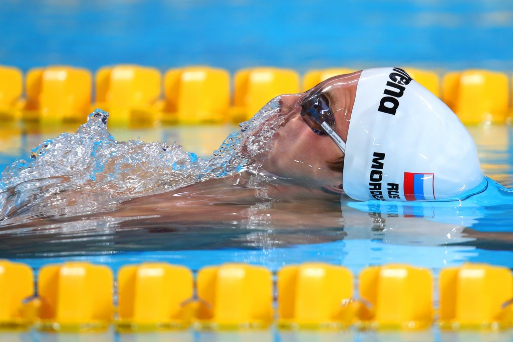 London 2012 bronze medallist Vladimir Morozov is one of 31 Russian swimmers ultimately accepted ©Getty Images
