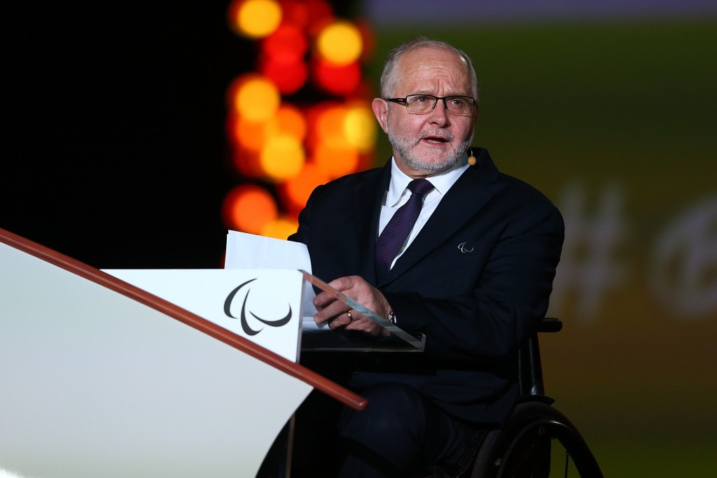IPC President Sir Philip Craven is among those to question the validity of the reforms being made in Russia ©Getty Images