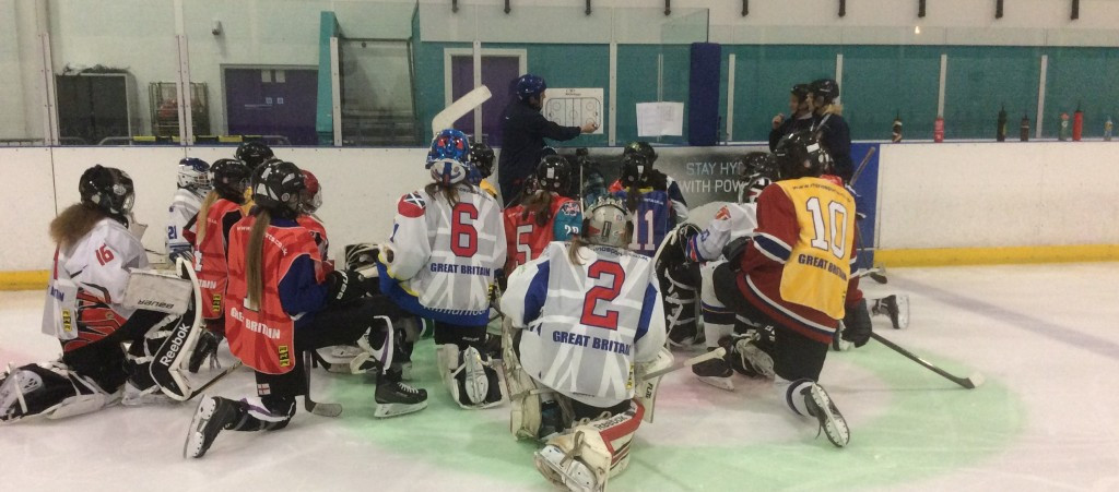 British ice hockey coach Smith excited by upcoming talent